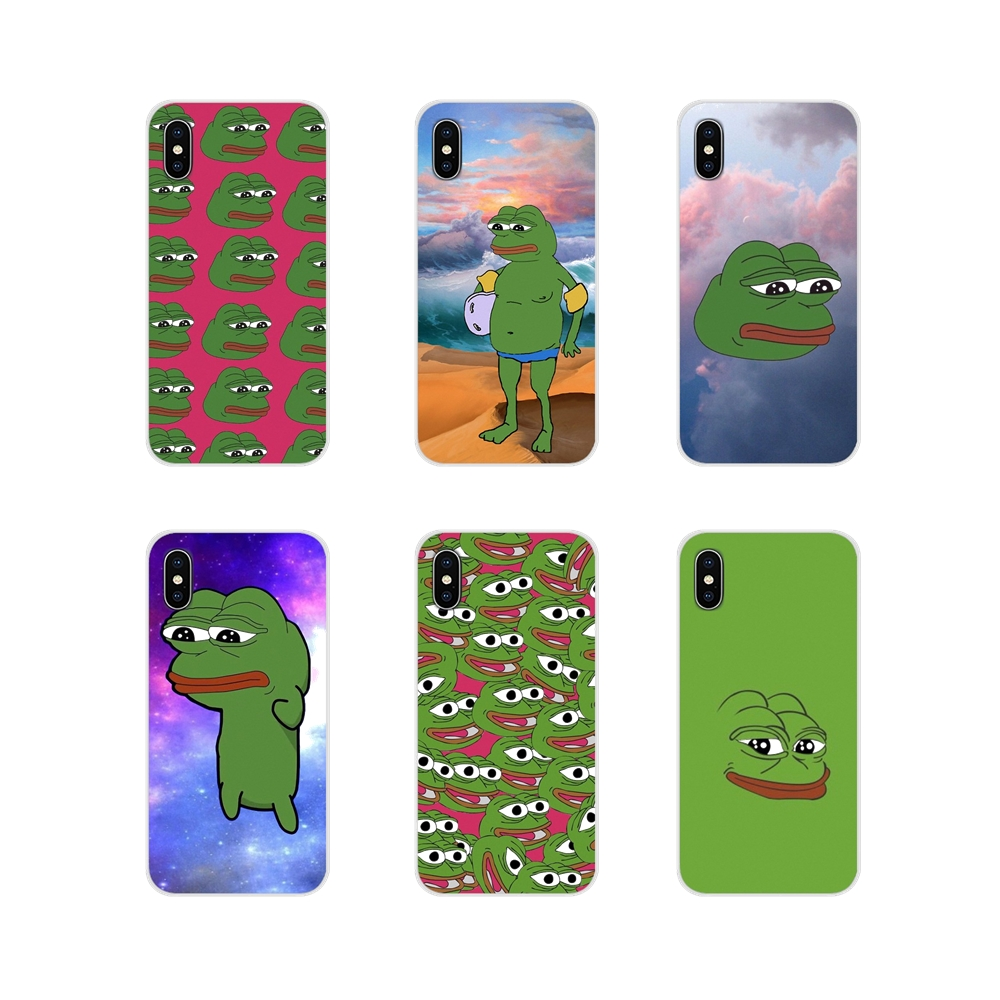 Accessories Phone Shell Covers the frog meme memes For Samsung Galaxy A3 A5 A7 A9 A8 Star A6 Plus 2018 2015 2016 2017 image