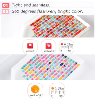 Huacan Diamond Painting 5D DIY Cartoon Full Square Round Diamonds Embroidery Text Kits Decorations
