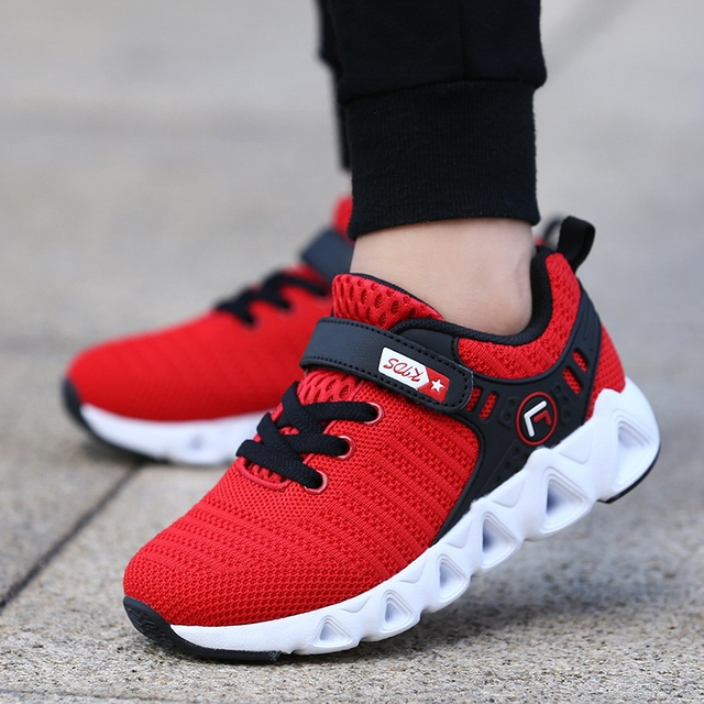 2019 Autumn Children Shoes Fashion Brand Outdoor Kids Sneakers Boy Running Shoes Casual Breathable Boys Girls Sports Shoes 891 2