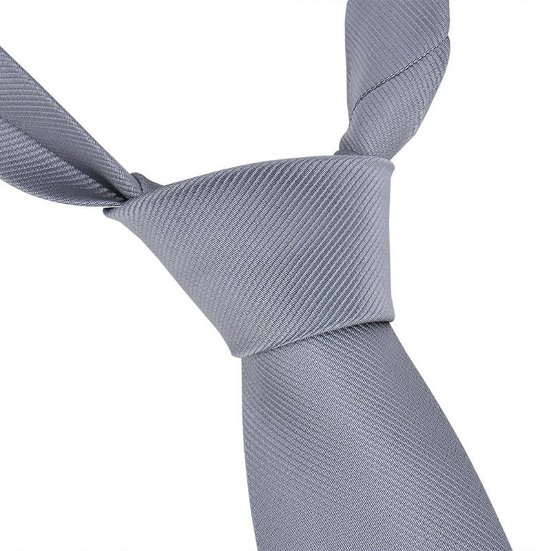 Fashion Classic Solid Plain Tie Jacquard Woven Men's Silk Suits Ties Necktie QX2D