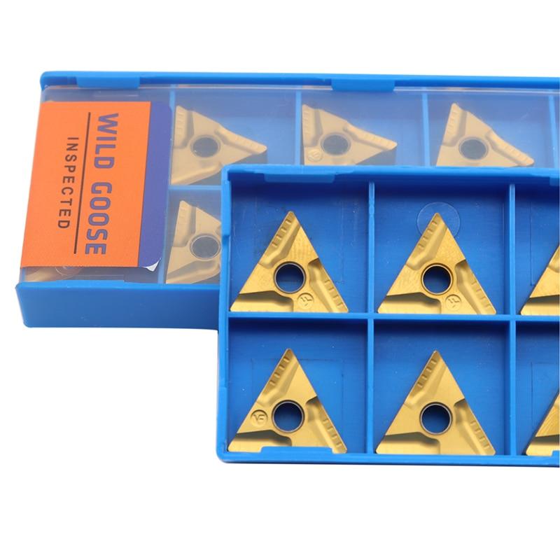 10 vnt. TNMG160404 R VF UE6020 išoriniai tekinimo įrankiai karbido - Staklės ir priedai - Nuotrauka 2