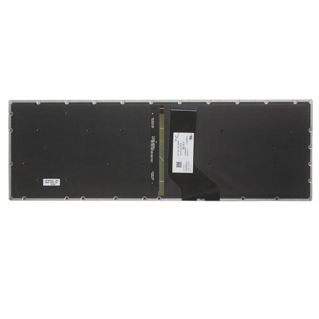 Nouveau clavier dordinateur portable britannique pour Acer Aspire V15 T5000 N15Q1 N15W7 N15W6 N15Q12 N15Q1 N15W1 N15W2 clavier noir britannique rétro-éclairé