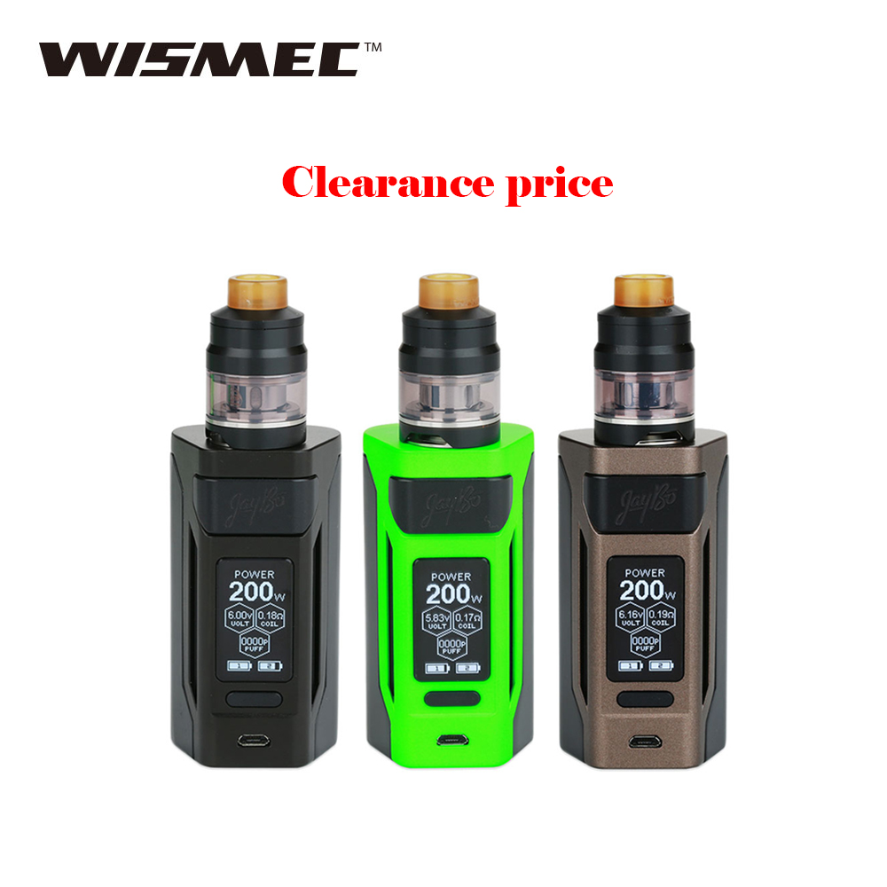 Clearance Original Wismec Reuleaux RX2 20700 TC Kit 4ml Output 200W VW TC TCR Mode VS