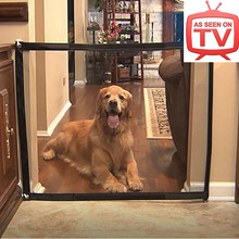 Home Durable Nylon Dog Fence Pets Mesh Puppies Gate Baby Fence Mesh Gate Dogs Door Pet Dog Car Fence Drop shipping As Seen on TV(China)