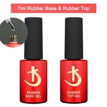 KODI Latest Thick Nail Base Coat 7ml Gel Varnishes for Nails Manicure Semi-permanent