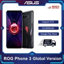 Original ASUS ROG Phone 3 Global Version ZS661KS 5G Smartphone Snapdragon 865Plus NFC Android Q OTA Update Gaming Phone ROG3
