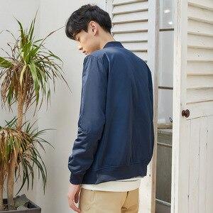 Image 2 - Metersbonwe Mens Casual Jackets for Men Jogger Fashion Jacket Men Overcoat Baseball Jackets Mens Streetwear Tops Plus Size