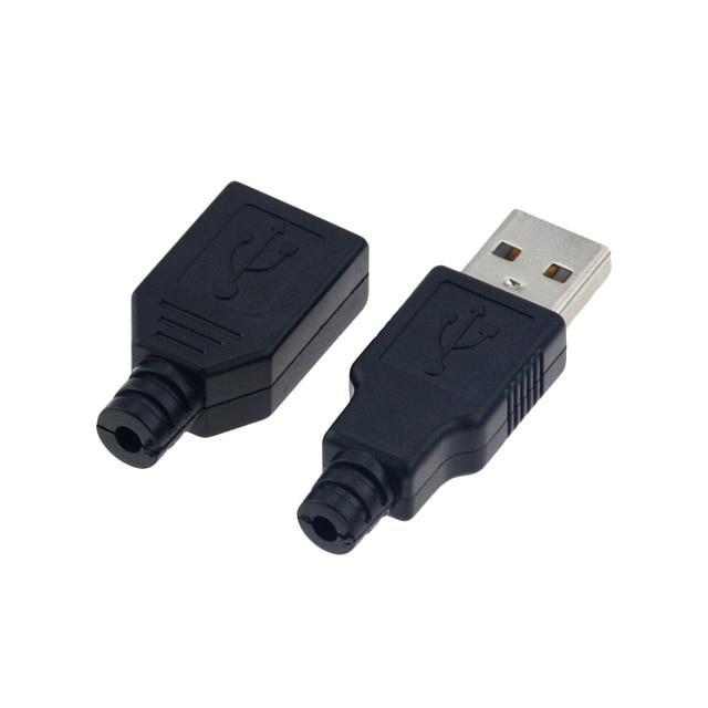 Business Travel Portable device USB 4 Pin Plug Socket