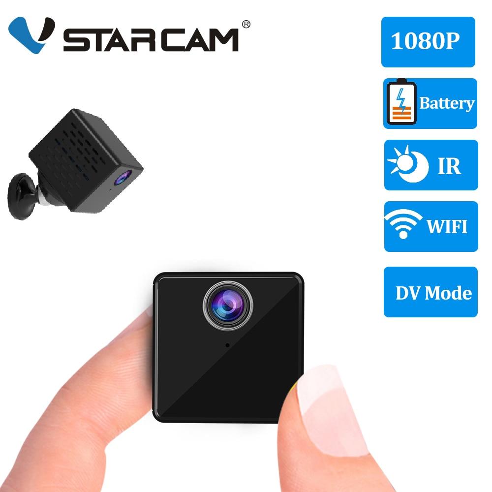 Vstarcam 1080P Mini Camera C90S Rechargeable Battery IP Camera Security Sureveillance Camera Wifi Camera & DV Recorder 2 In 1