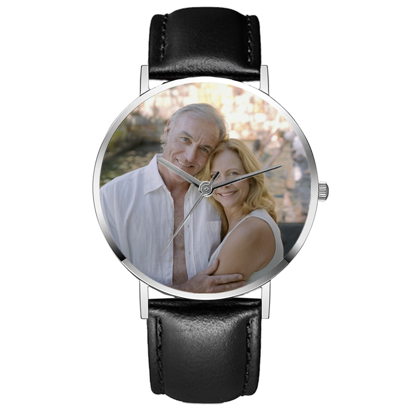 2 Pieces DIY Watch Manufacturing Watches Custom Photo Watch Reloj Personalizado Con Foto Relogio Personalizado