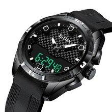 Relogio Masculino erkek spor saatler kuvars dijital LED askeri İzle erkekler Casual elektronik saatı Relojes