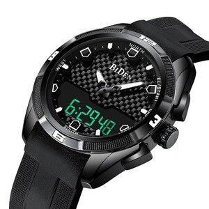 Image 1 - Relogio Masculino męskie sportowe zegarki kwarcowe cyfrowy zegarek led w stylu wojskowym mężczyźni Casual elektronika zegarki na rękę Relojes