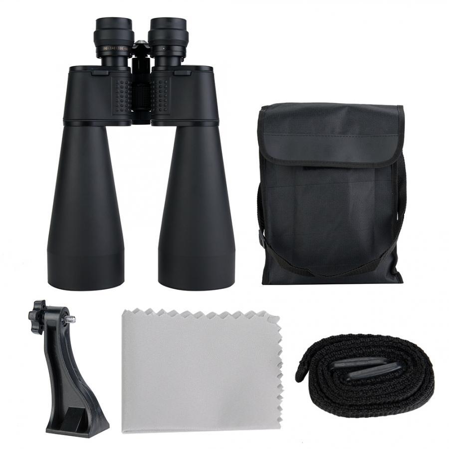 HD 180x100 Zoom Binoculars Night Vision Telescope w// Bracket for Travel Hiking