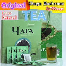 [Russian Imports] 50bags/box,100% Pure Natural Chaga Mushroom Tea for Enhance Immunity,Original,high Quality with Free Shipping