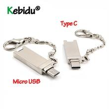 Converter Memory-Card-Reader Type-C Micro-Usb Computer Portable-Adapter Aluminum OTG