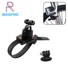 Adjustable Bicycle Belt Mount Holder Gopro Clip Bracket Mount Clamp For Gopro Hero 7 6 5 4 3+ 3 xiaomi yi 4K High Quality