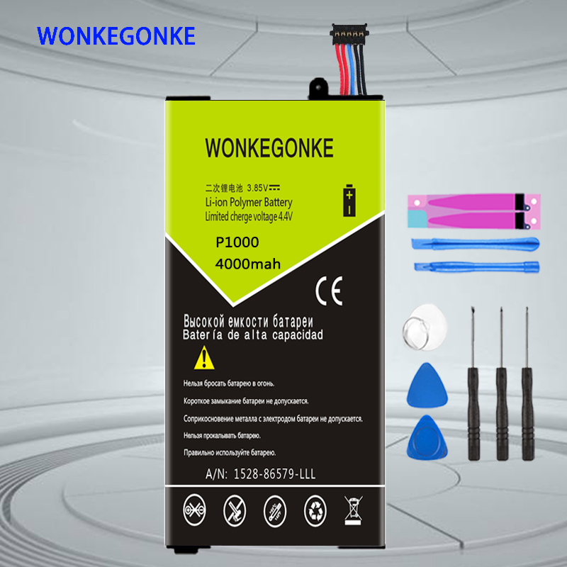 WONKEGONKE SP4960C3A For Samsung <font><b>Galaxy</b></font> <font><b>Tab</b></font> <font><b>P1000</b></font> P1010 <font><b>GT</b></font>-<font><b>P1000</b></font> Tablet Battery Batteries image