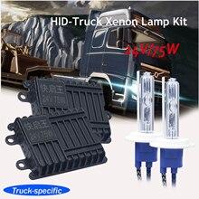 H7 escondeu lâmpadas de xenônio 24 v 75 w super brilhante caminhão 75 w 4300 k 8000 k h1h11 9005 hb3 xenon faróis lâmpadas 1 conjunto frete grátis