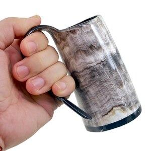 Image 5 - 100% ручная работа Бык Рог кружка виски выстрел стаканы вино рог для напитков кружки викингов питьевые кружки