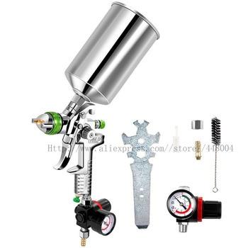 HVLP gravity spray gun air spray gun 2.5mm 1000CC cup professional automotive paint tools paint spray gun kraton hvlp 02s