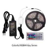 5 meter 300Leds RGB Led Strip Light 5050 DC12V 60Leds/M Flexible Lighting Ribbon Tape White/Warm White/Blue Strip Blister Set