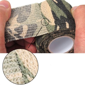 11colors Army Camo Outdoor Hunting Shooting Blind Wrap Camouflage Stealth Tape Waterproof Wrap Durable 5cmx4.5m 2