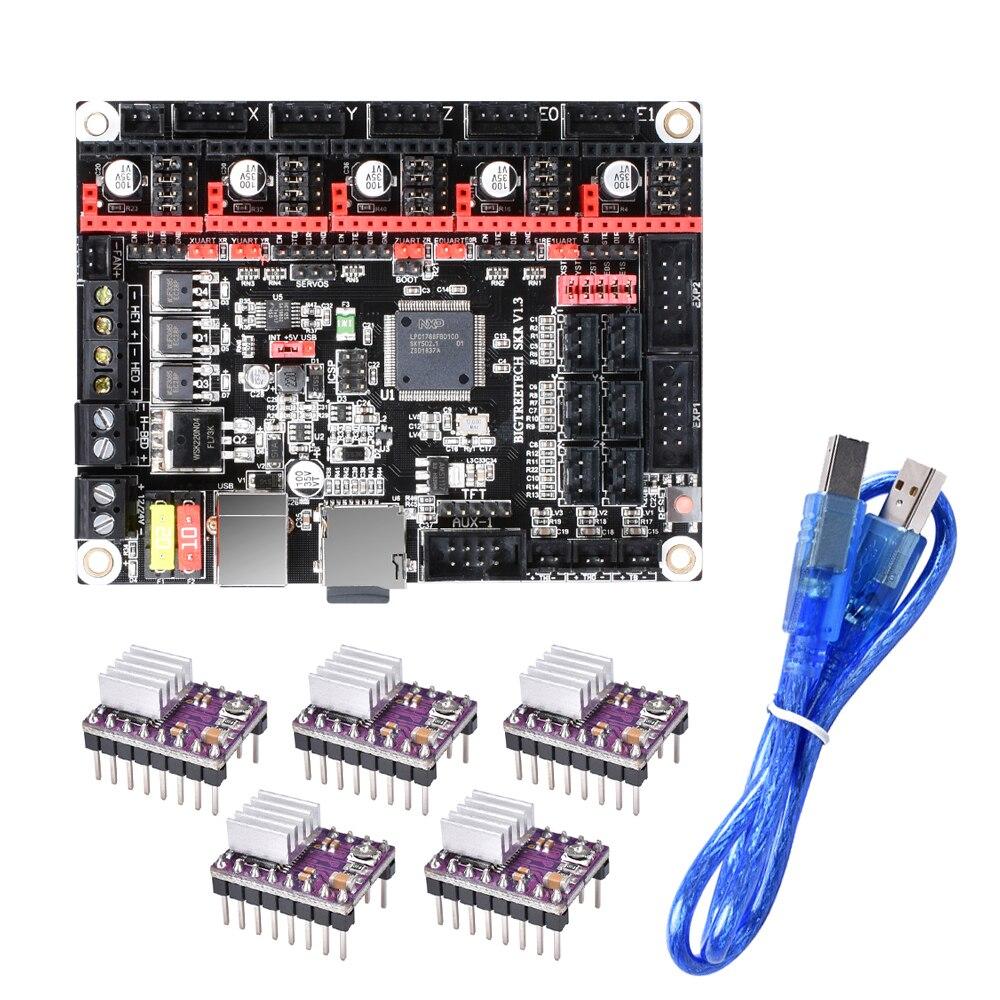 BIGTREETECH SKR V1 3 Motherboard 32-Bit ARM Smoothieboard TMC2130 TMC2208  V3 0 UART 3D Printer Parts Gen L V1 4 Controller Board