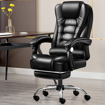 Boss Chair Reclining Computer Chair Household Office Chair Dormitory Chair Rotating Lift Chair Game Chair Massage Chair Silla ga computer chair home boss chair leather business reclining massage executive chair solid wood swivel chair lift office seat