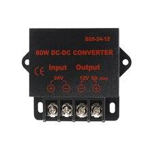 цена на 24V to 12V 5A DC DC Converter Regulator Car Step Down Reducer 24V to 12V 10AMP