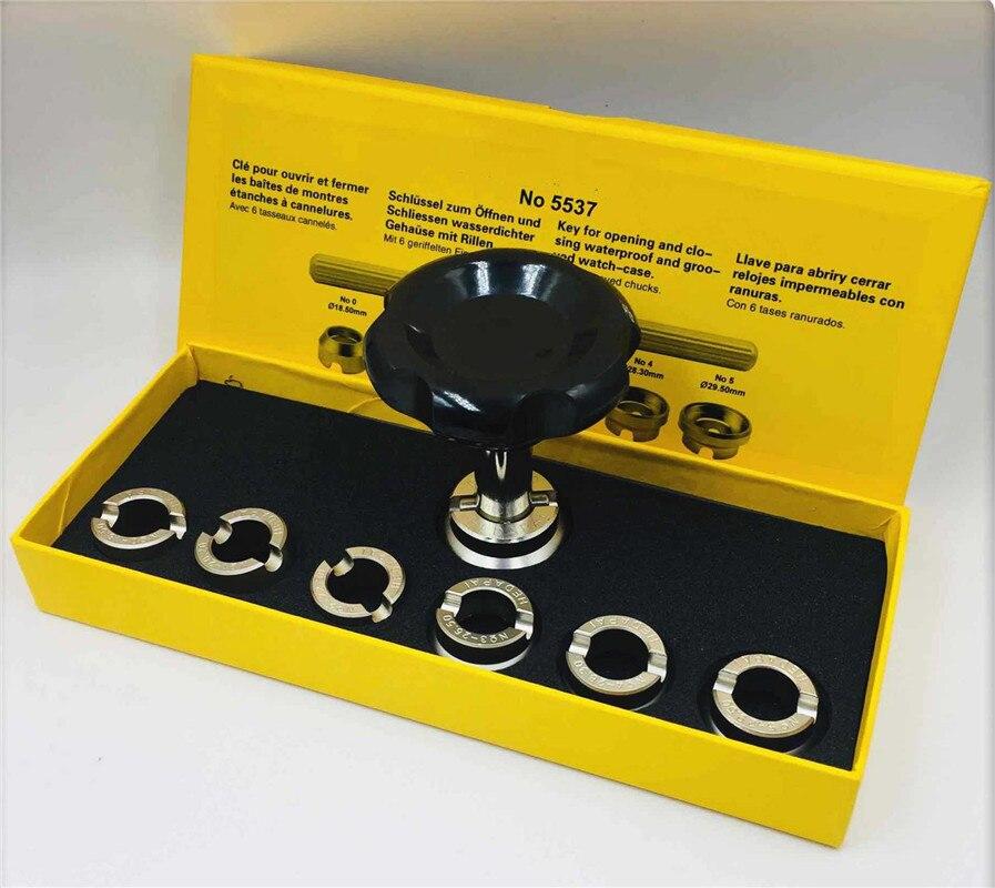 Водонепроницаемый чехол для часов, открывалка для задней панели часов, 7 типов размеров, профессиональный набор инструментов для ремонта ча...