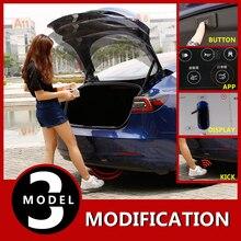 Автомобильная электрическая система подъема задних ворот с дистанционным управлением с Умной функцией распознавания ног для Tesla модель 3