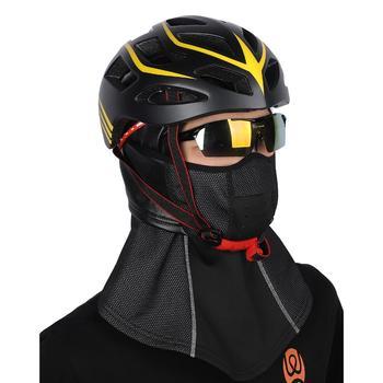 WEST BIKING zimowa maska kolarska na twarz kominiarka termiczna utrzymuj ciepło wiatroszczelna maska narciarska czapka snowboardowa rowerowa maseczka na twarz na rower tanie i dobre opinie CN (pochodzenie)