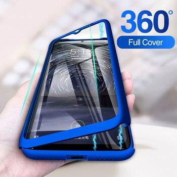 Перейти на Алиэкспресс и купить Закаленное стекло для OPPO A11 A11X, чехлы для телефона с полным покрытием для A9 2020 360, Защитная пленка для OPPO A5 2020
