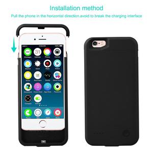 Image 3 - for iPhone 6 6s Power Bank Charging Cases 2800mAh Battery Charger Case Cover for iPhone 6 6s Ultra Slim External Back Pack
