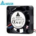 Для delta AFB0412HA-F00 DC 12 В 0 48 Вт 0.14A 4 см 4010 40*40*10 мм чехол для сервера кулер осевые вентиляторы охлаждения