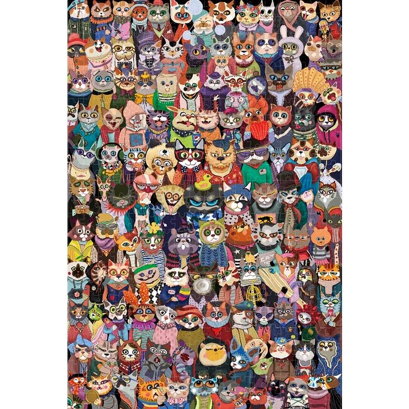 Rompecabezas de madera de Michelangelo para niños, 1000 piezas, 2000 piezas