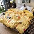 Поставка теплый плед зимнее одеяло один человек одеяло весна и осень двойное одеяло Inser Soybean синтетическое одеяло