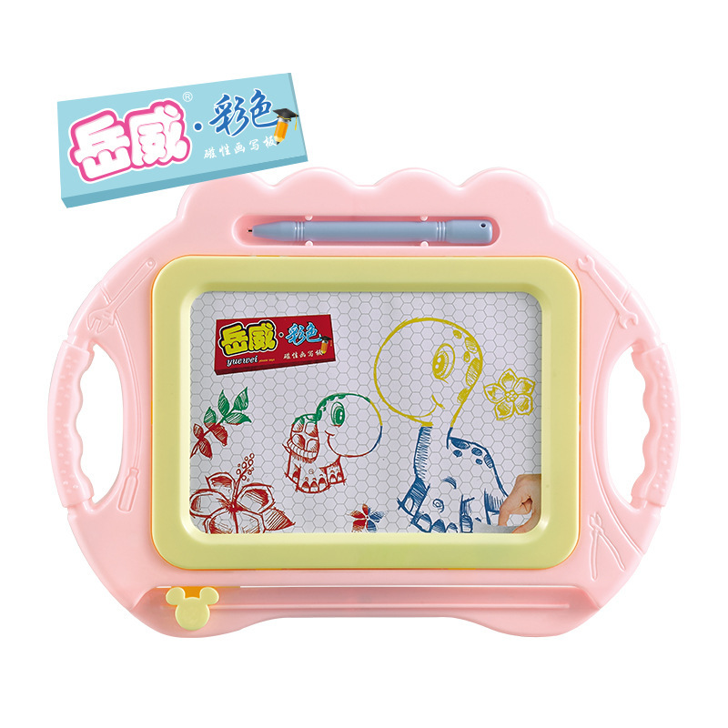 NEW CHILDREN'S Toy Small Funny Drawing Board Multi-color Color Magnetic Drawing Board Baby Children'S Educational Draw And Paint