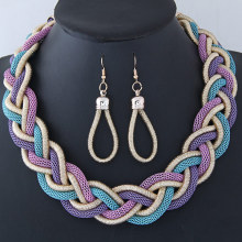 European and American fashion exaggerated preparation of metal thick rock chain necklace fashion accessories wholesale preparation and characterization of metal oxides