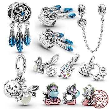 Горячая Распродажа 100% стерлингового серебра 925 StarWars серии S1 S12, очаровательные, подходят к оригиналу Pandora, браслет для женщин, ювелирное изделие, подарок Бусины      АлиЭкспресс