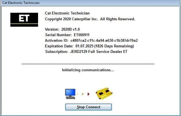 ET 2020C Electronic Technician Diagnostic Software