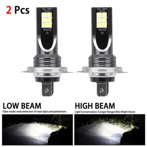 H7 110W 24000Lm Beam 6000K Kit LED Fog L