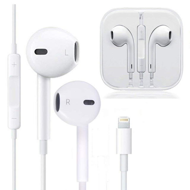In Ear Headphone Wired Bluetooth Earphone for Apple IPhone 10 11 Pro X XR XS Max 7 Plus Earbuds with Mic Ear Phone Not Wireless 1