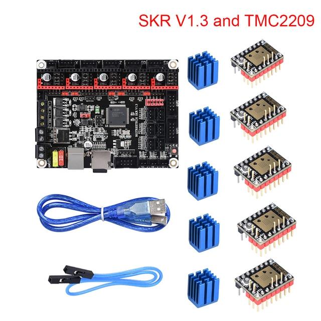 BIGTREETECH SKR V1.3 32 Bit Motherboard TMC2209 UART Stepper Motor Driver Stepsticks Mute 3d Printer Parts VS TMC2130 TMC2208