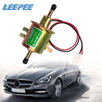 HEP-02A 12V Electric Petrol Fuel Pump Bolt Fixing Wire Diesel Low Pressure Car Supply System For Car Carburetor Motorcycle ATV