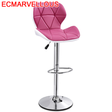 Bar Leather Chair Taburete
