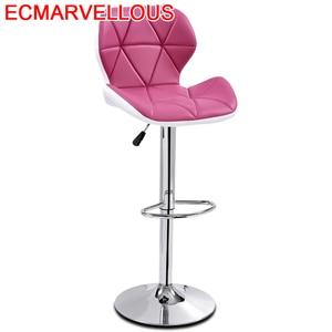 Stoelen Sgabello Bancos Moderno Taburete La Barra Sedie Ikayaa Table Leather Silla Tabouret De Moderne Cadeira Bar Chair