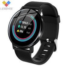 Lerbyee Fitness Watch H5 Color Screen Heart Rate Monitor Smart Waterproof Pedometer Weather Forecast Smartwatch for Sport