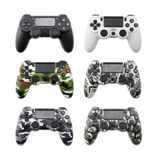 цена на For PS4 Pro Bluetooth Wireless/Wired Controller For SONY PS4 Pro Slim Gamepad For PlayStation 4 Joystick For PS3 For Dualshock