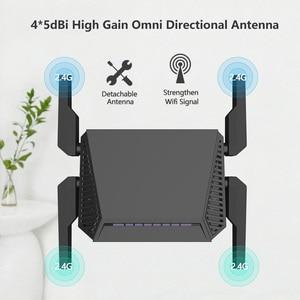 Image 1 - WE3826 Omni II firmware Senza Fili WiFi Router per USB 3G 4G modem omni 2 4 antenne 300Mbps 4 Anttenas Inglese Firmware